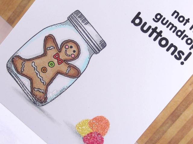 not my gumdrop buttons - Detail