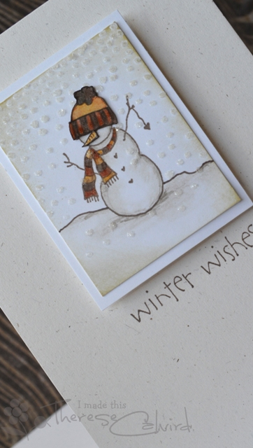 Winter Wishes - Detail