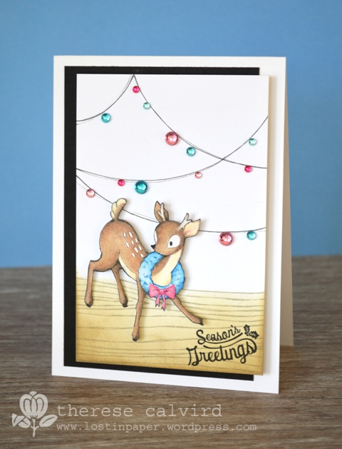 Season's Greetings - Deer