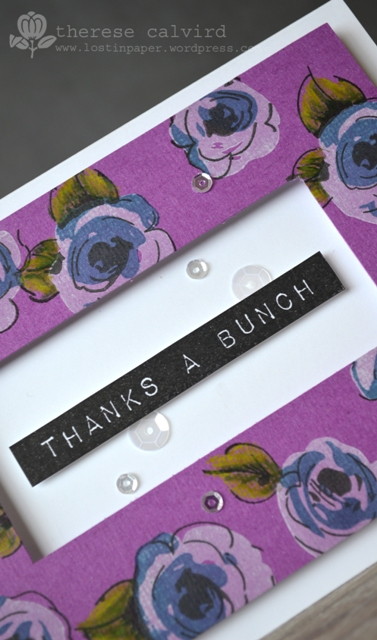 Thanks a Bunch - Detail