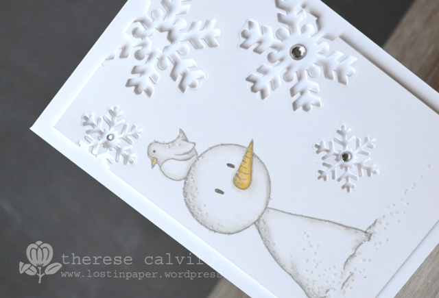 Gorjuss Snowman - Detail