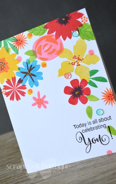 Celebrating You - Detail