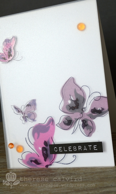 Altenew Celebrate - Detail