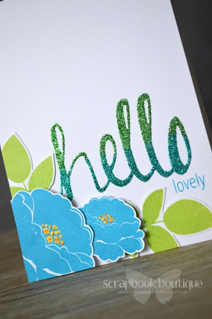Hello Lovely - Detail