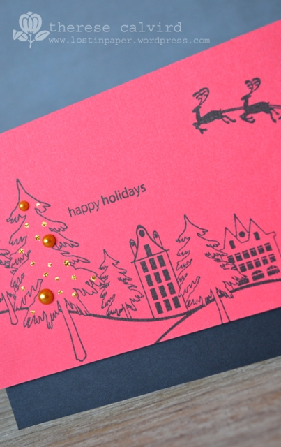 happy holidays - Detail