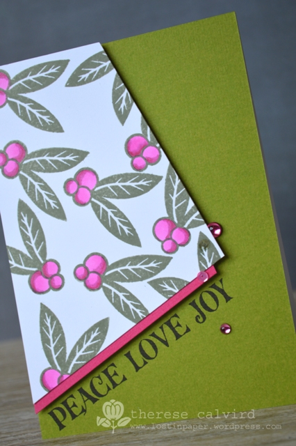 Peace Love Joy - Detail