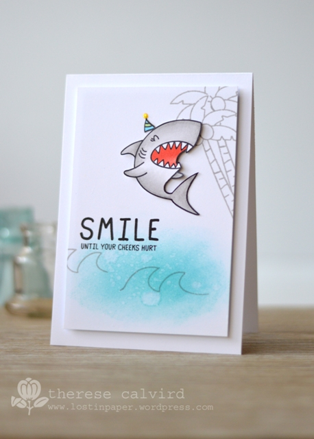 Cards 4 Men, video, Waffle Flower, Tiger & Lily, shark card