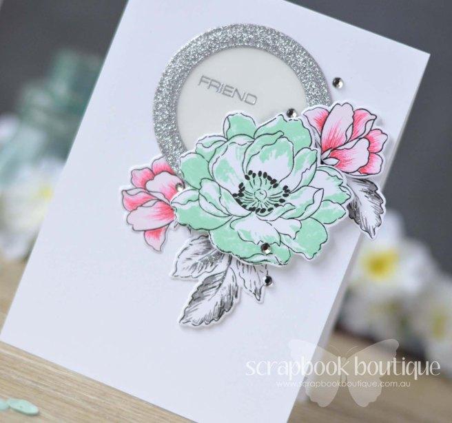 Lostinpaper - Scrapbook Boutique / Altenew / Beautiful Day / Beautiful Lady / Peony Bouquet
