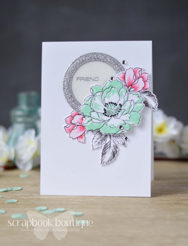 Lostinpaper - Scrapbook Boutique / Altenew / Beautiful Day / Beautiful Lady / Peony Bouquet