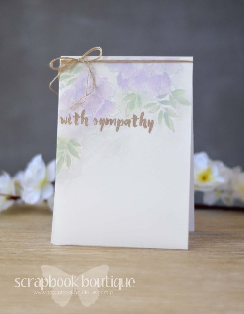 Lostinpaper - Altenew Peony Bouquet / Painted Greetings / Prima Watercolor / Scrapbook Boutique
