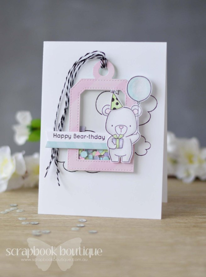 Lostinpaper - MFT Beary Special Birthday - Tag Builder 4 - Altenew - Bunny Love - Avery Elle - Sorbet Collection (video)
