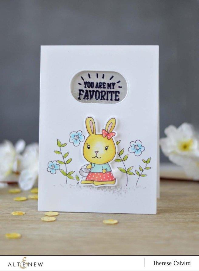 Lostinpaper - Altenew - Bunny Love - Way too Sweet - Beautiful You (video) (1) copy