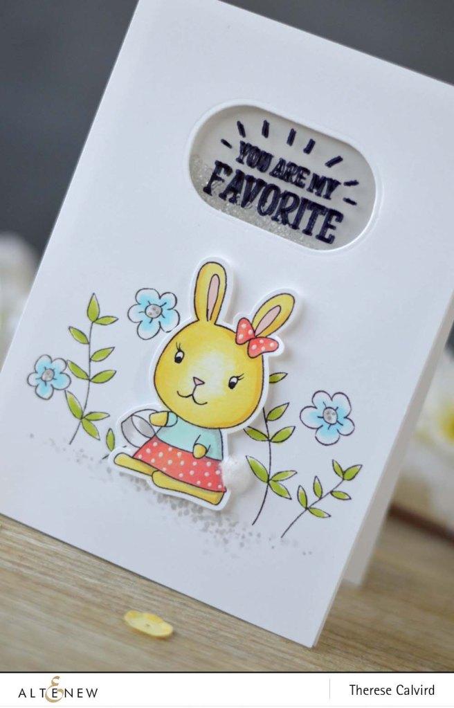Lostinpaper - Altenew - Bunny Love - Way too Sweet - Beautiful You (video) (2) copy