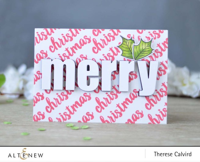 lostinpaper-altenew-sketched-evergreen-bold-alphabet-die-set-poinsettia-pine-card-1-copy