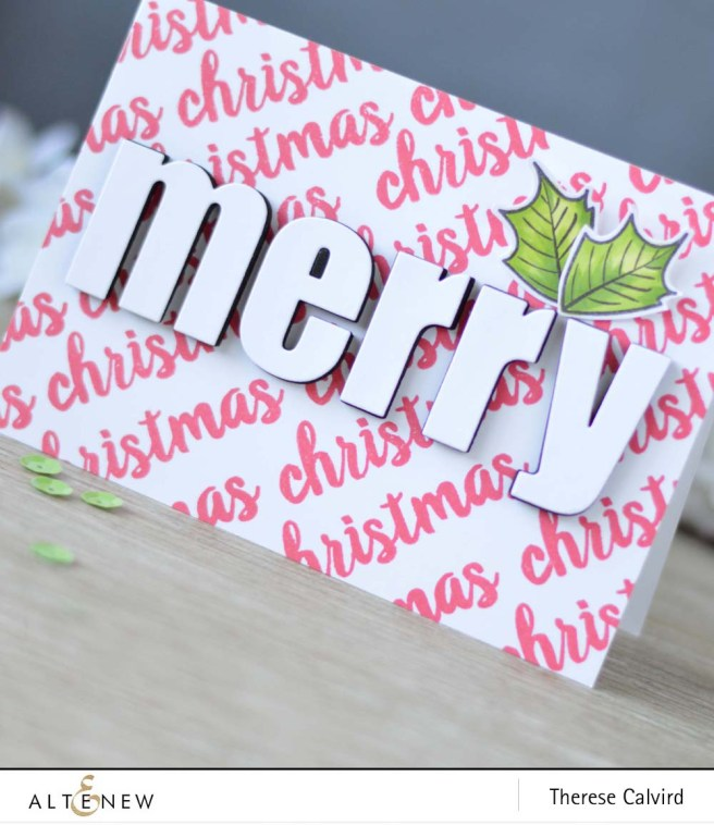 lostinpaper-altenew-sketched-evergreen-bold-alphabet-die-set-poinsettia-pine-card-1-copy
