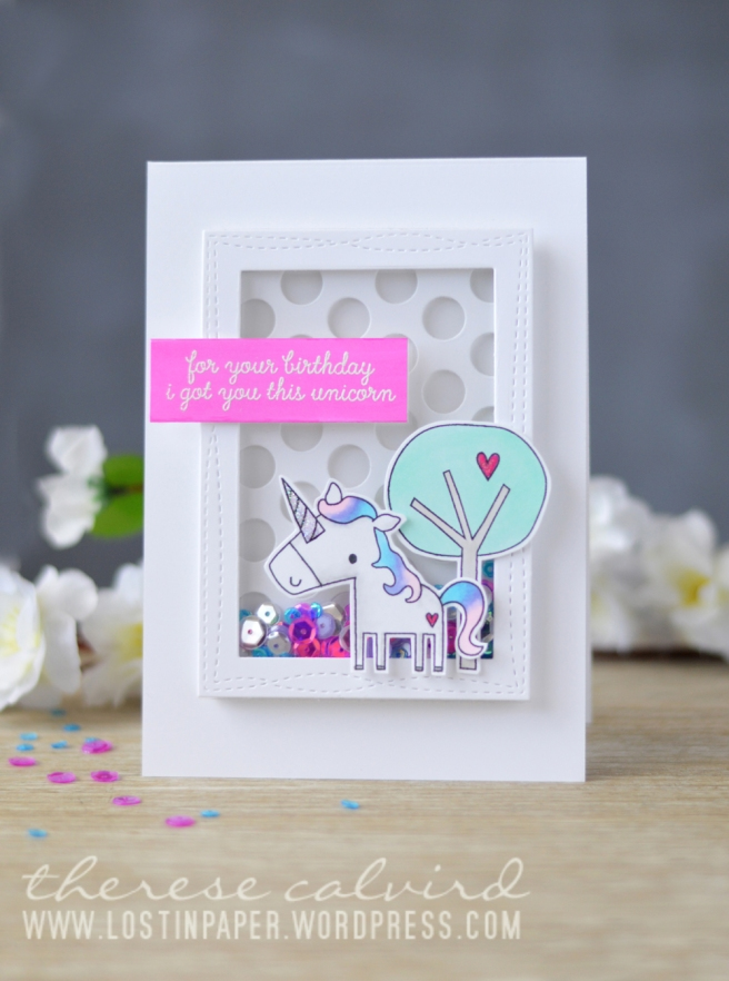 lostinpaper-reverse-confetti-unicorn-wishes-mft-peek-a-boo-polka-dots-wonky-stitched-rectangles-stax-card-video-1