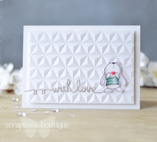 lostinpaper-sb-script-die-mft-snuggle-bunnies-wrmk-geometric-card-video-1