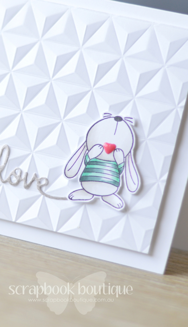 lostinpaper-sb-script-die-mft-snuggle-bunnies-wrmk-geometric-card-video-2