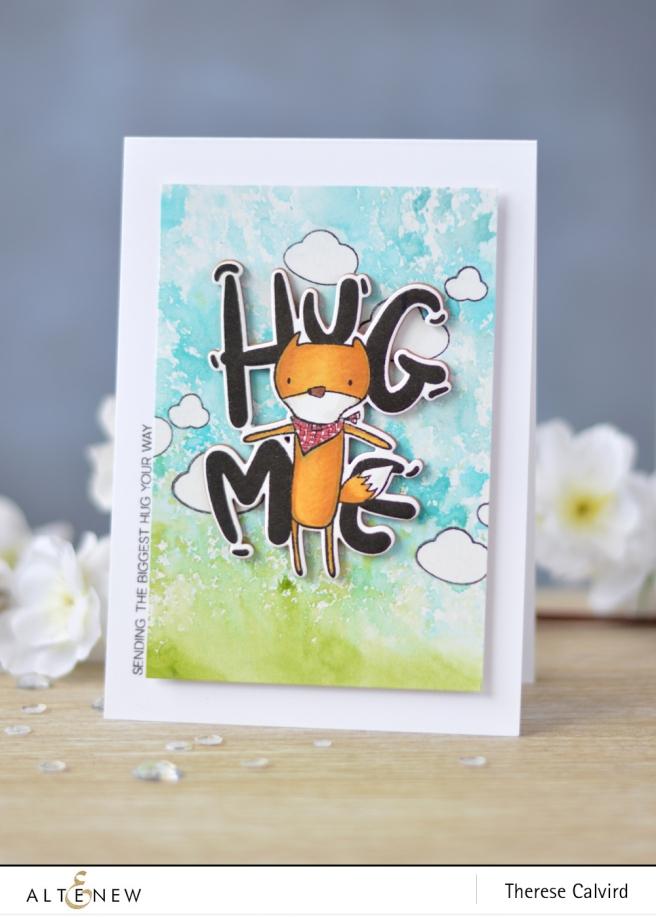 Altenew - Hug Me - Lostinpaper (card video) 1 copy