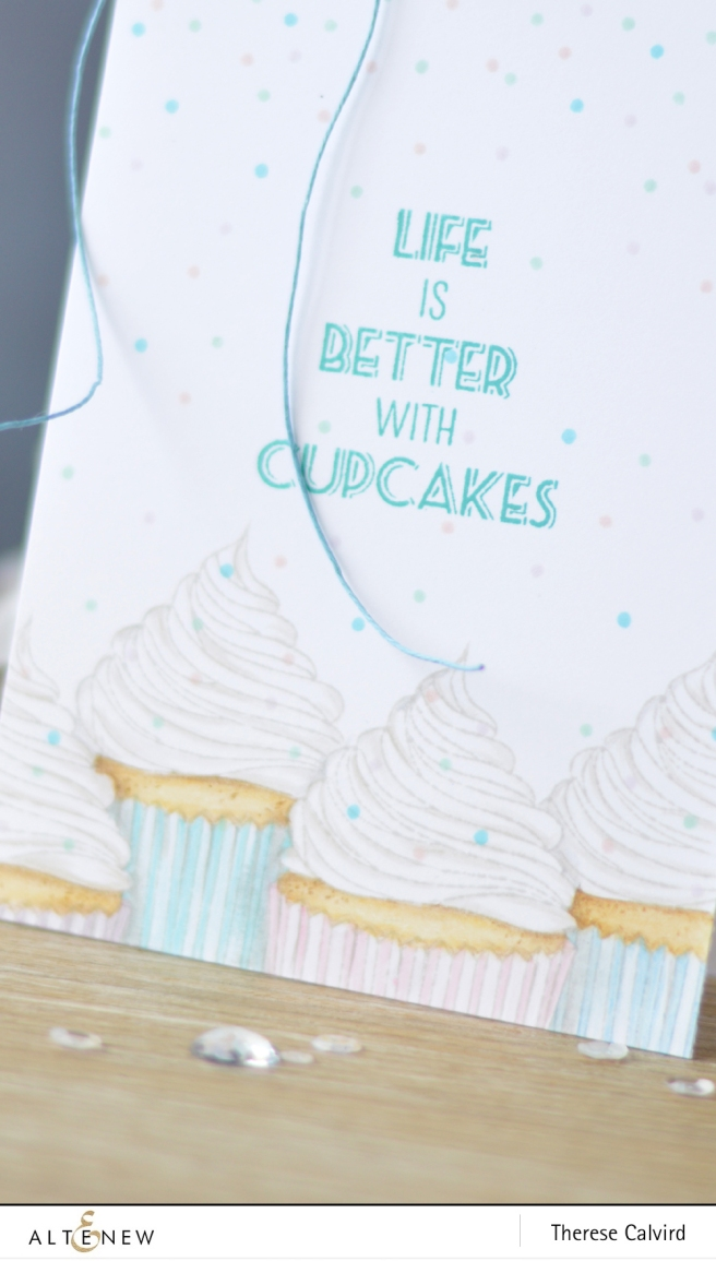 Altenew - Layered Cupcake - Lostinpaper (card) 1 copy