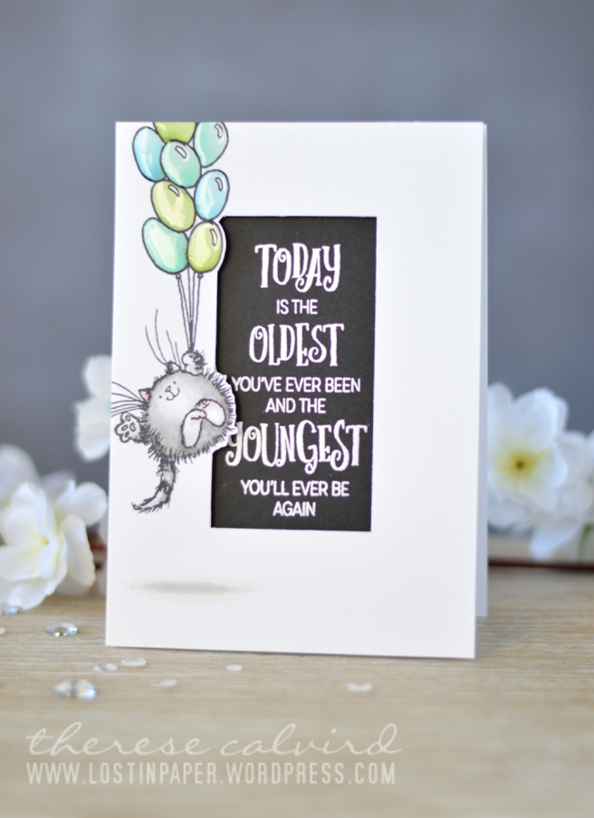 Lostinpaper - Penny Black - Time to Celebrate - Birthday Love (card) 1