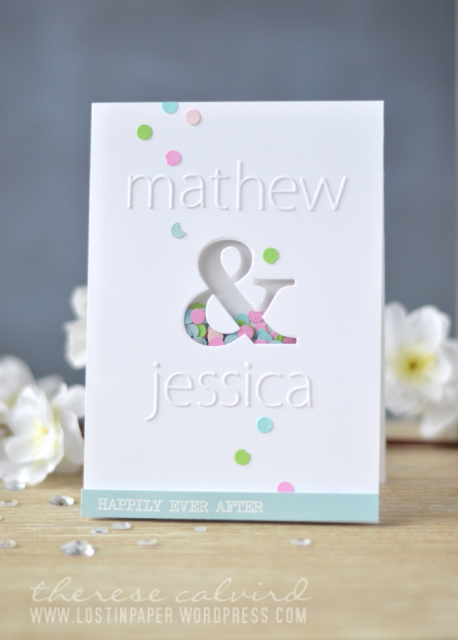 Lostinpaper - Personalised Wedding Card (1)
