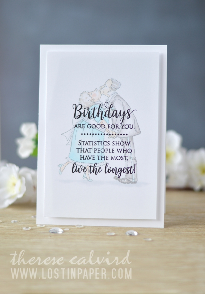 Lostinpaper - Penny Black - Birthday Love - Kisses for my Sweet (card video) 1