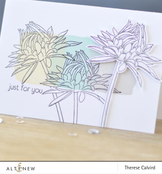 Altenew - Best Bud - Watercolor Frames - Lostinpaper (card) 1 copy