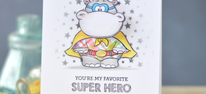 Lostinpaper - Gerda Steiner - Hippo in Disguise - Mama Elephant - Tiny Heroes (card video) 1