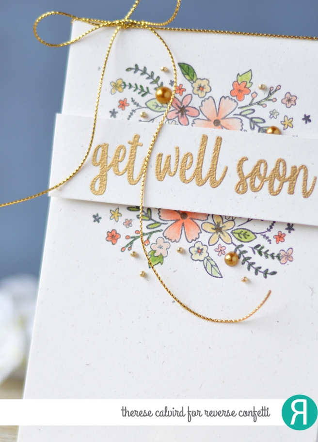 Lostinpaper - Reverse Confetti - Banner in Bloom - Sentiment Essentials (card) 1 copy