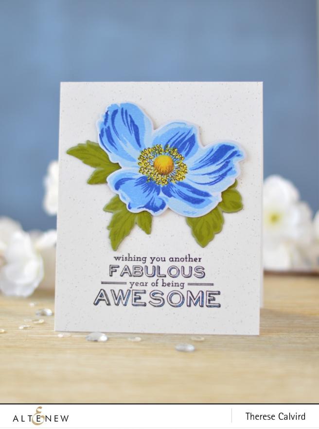 Altenew - BAF - Anemone - Birthday Bash - Lostinpaper (card) 1 copy