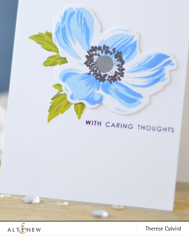 Altenew - BAF - Anemone - Thinking of You - Lostinpaper (card) 1 copy