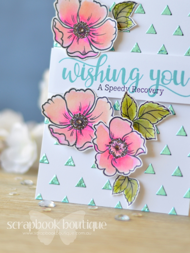 Lostinpaper - Mudra - DecoFoil - Heidi Swapp (card video) 1