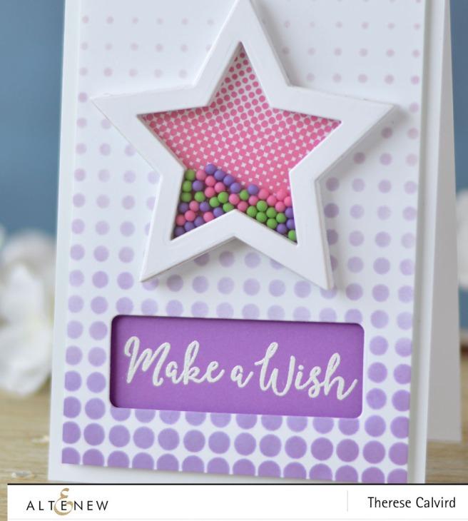 Altenew - Halftone Stars - Halftone Stencil - Lostinpaper (card) (1) copy
