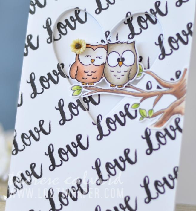 Lostinpaper - Gerda Steiner Designs - Fall in Love - Buckets of Love (card video) 1