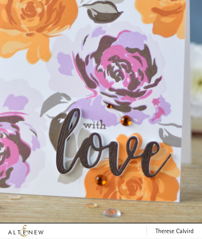 Altenew - Floral Fantasy - Super Script 2 - Lostinpaper (card video) 1 copy