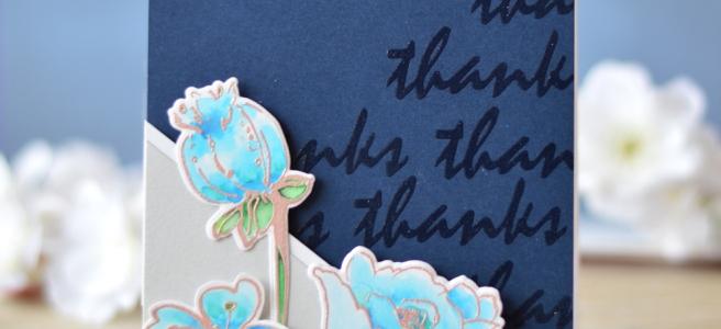 Altenew - You Make Me Happy - Botanical Garden - Many Thanks - Lostinpaper (card video) 1 copy