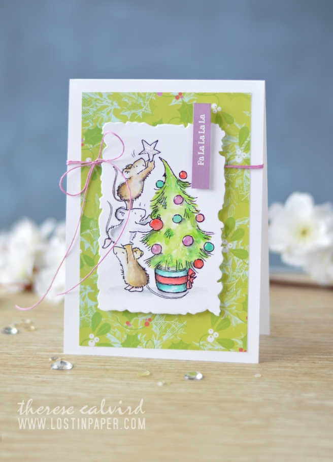 Lostinpaper - Penny Black - Gather Around - Holiday Snippets (card video) 1