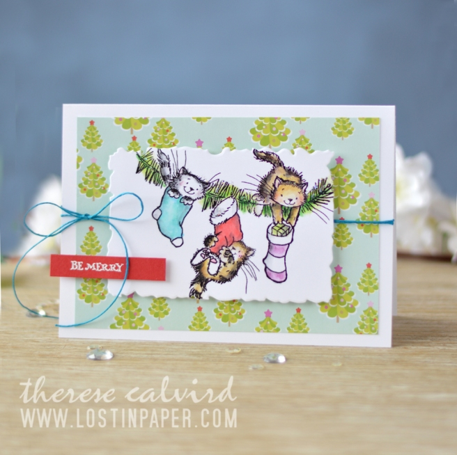Lostinpaper - Penny Black - Gather Around - Holiday Snippets (card video) 3