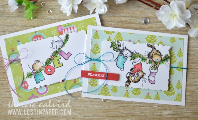 Lostinpaper - Penny Black - Getting Ready - Gather Around - Holiday Snippets (card video) 1