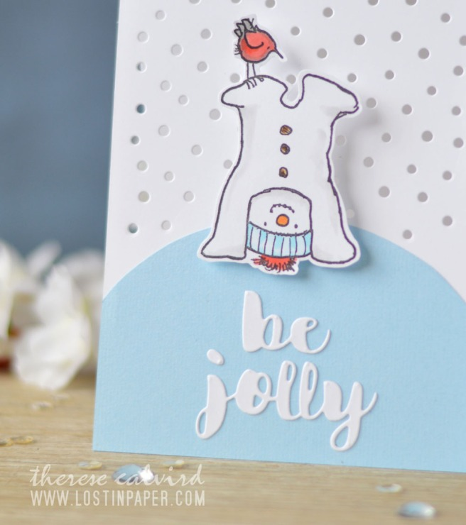 Lostinpaper - Penny Black - Snow Much Fun - Avery Elle (card video) 1