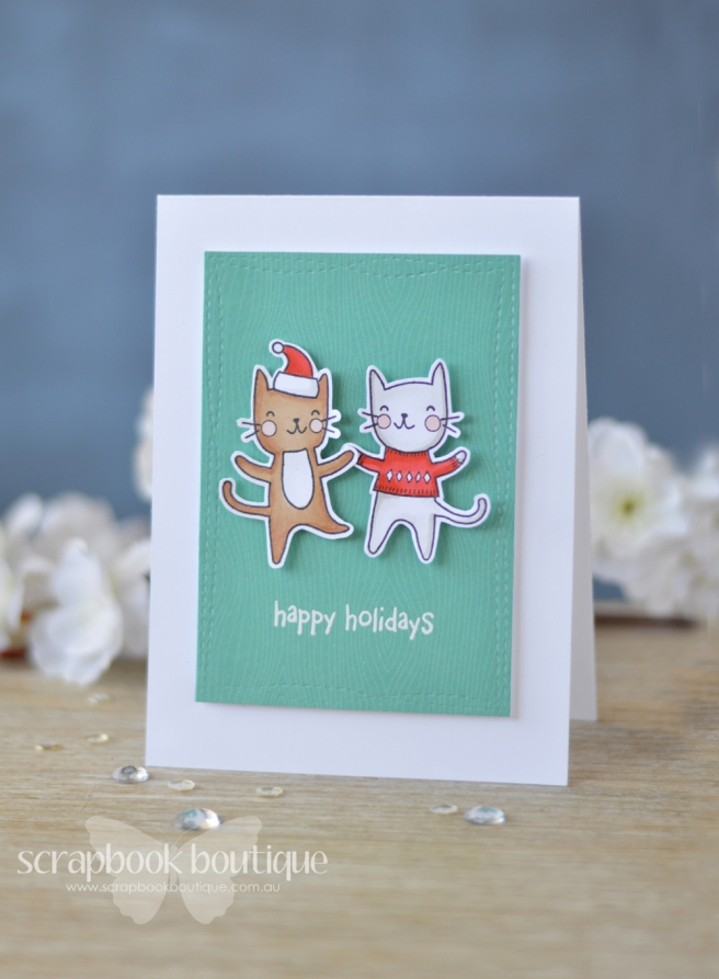 Lostinpaper - Poppystamps - Purrfect Holidays - Lostinpaper (card video) 2