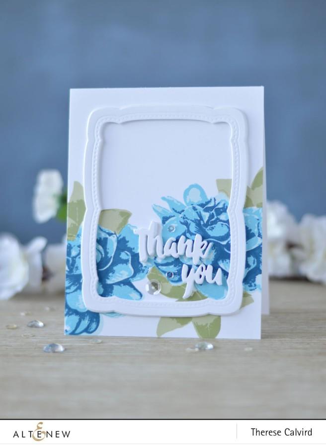 Altenew - BAF Gardenia - Our Family Scrapbook Collection - Lostinpaper (card) 1 copy