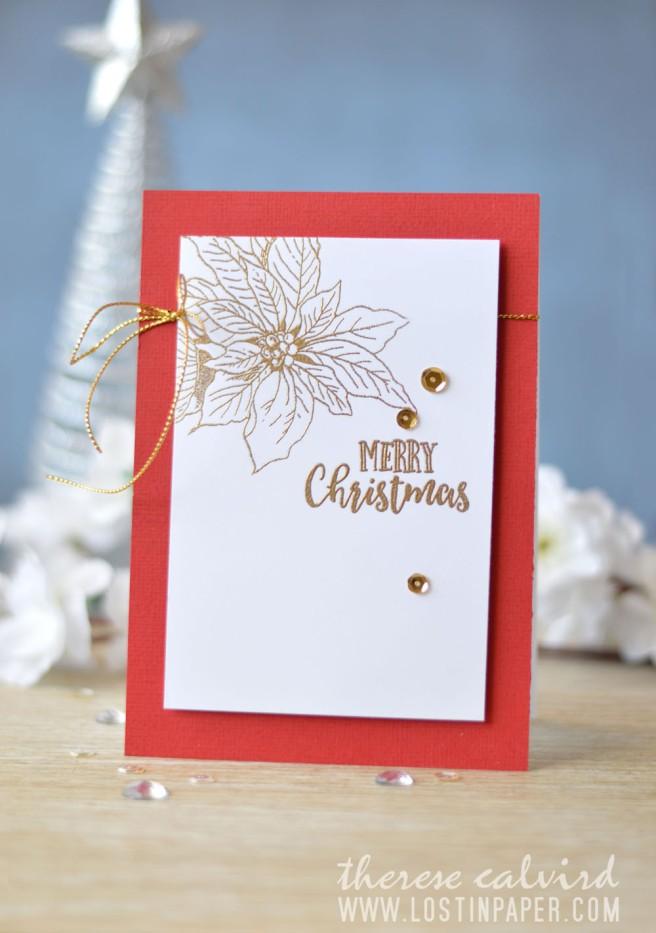 Lostinpaper - Penny Black - Winter Joy - Altenew - Happy Holidays (card video) 1