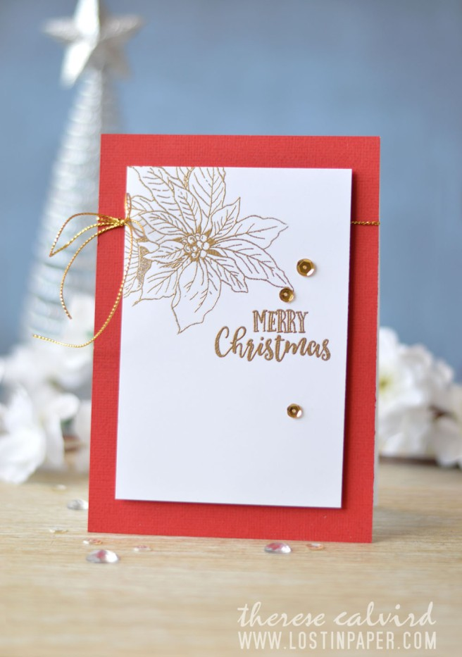 Lostinpaper - Penny Black - Winter Joy - Altenew - Happy Holidays (card video) 1