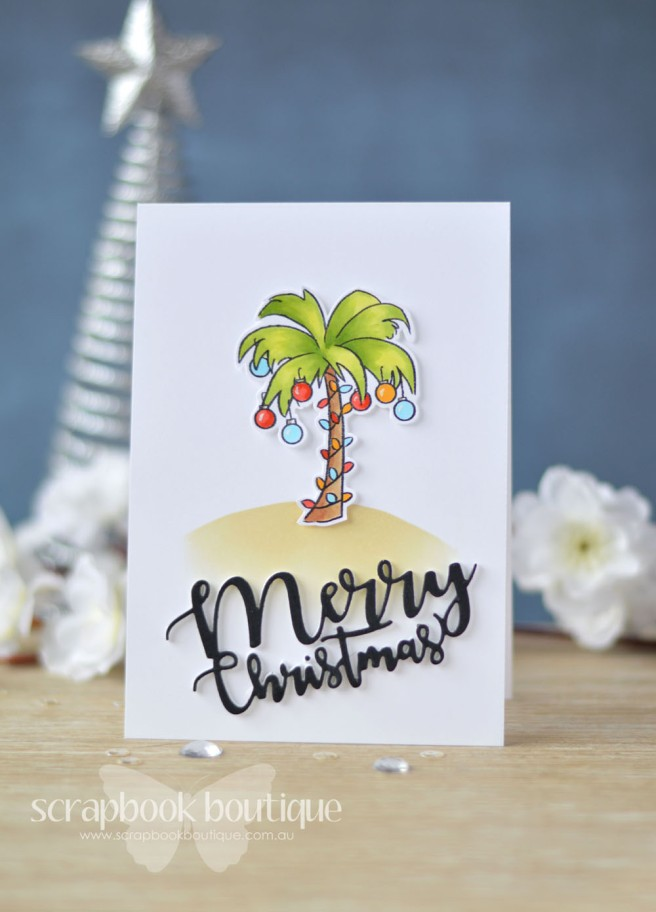 Lostinpaper - Art Impressions - Tropical Christmas - Penny Black - Ornamental Branch (card video) - Copy