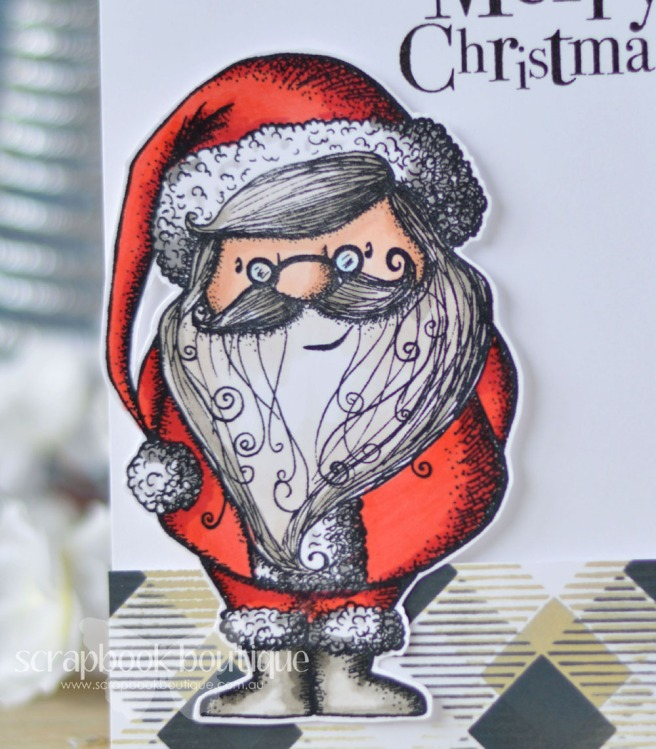Lostinpaper - Carabelle Studio - Santa Claus - Penny Black - North Pole Treasures - Echo Park (card video) - Copy