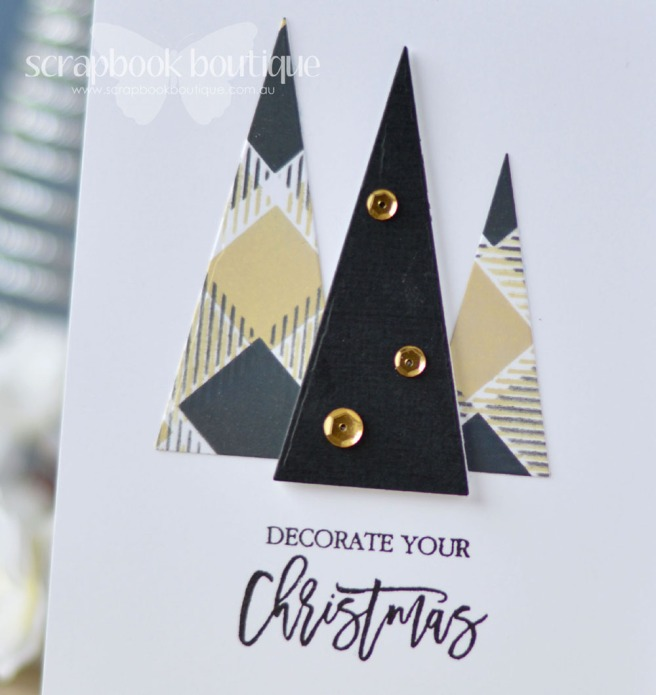 Lostinpaper - Penny Black - Modern Xmas Tree - Echo Park (card video) - Copy