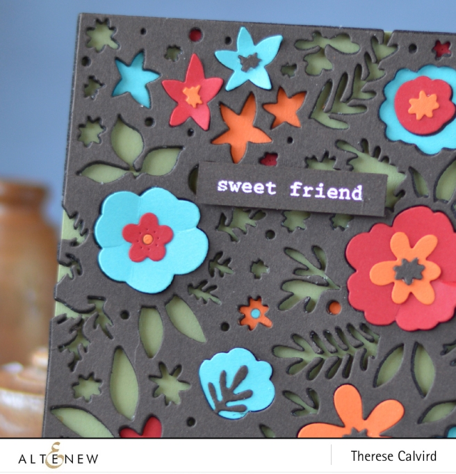 Altenew - Spring Flower Cover Die - Sweet Friend - Lostinpaper (card) 1 copy