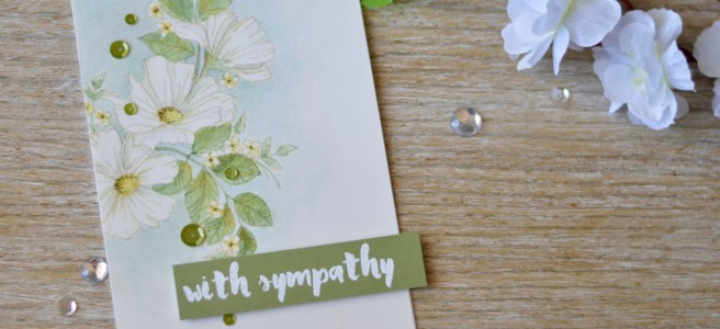 Lostinpaper - Colour with U - Stamplorations - Blossom Spray 2 (card video) 1